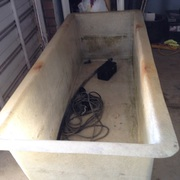 Fibreglass Fish Pond and Accessories