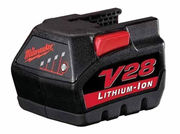 Cordless Drill Battery for MILWAUKEE 48-11-2850,  Milwaukee V28 Battery