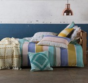 144$ Price For Rory Pastels Quilt Cover Set by Kas Room At Elan Linen