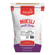 Order Anchor Toasted Muesli Pack of 15kg from Goodman Fielder