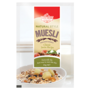 Try Anchor Natural Style Muesli Portion Pack from Goodman Fielder