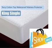Waterproof Mattres Protector - King Single