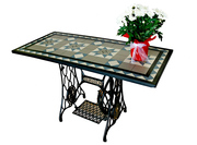 Update Your Outdoor Space With Mosaic Garden Table