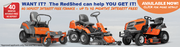 At The RedShed,  we offer INTEREST FREE FINANCE OPTION for RideonMowers