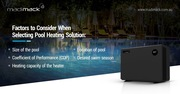 Get An Energy-Efficient Pool Heat Pump for your Residential Facility